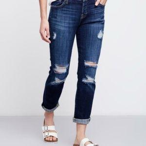 7FAM Josefina Destroyed 27 Skinny Boyfriend jeans